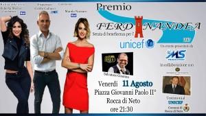 Al via la I° edizione del Premio Ferdinandea a Rocca di Neto