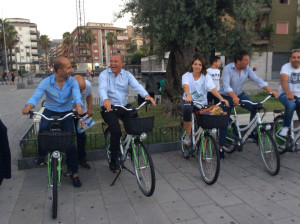 Bici elettriche consegnate alla città di Rossano