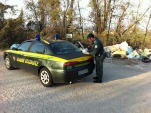 Guardie Ecozoofile Task Force a Cutro contro l'abbandono di rifiuti