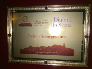 La Compagnia Teatrale Apollo Aleo vince il Premio Caccuri 2017 per la Sceneggiatura (1)