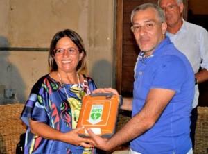 Nicola Campoli omaggia la comunità di Cariati di un defibrillatore (2)