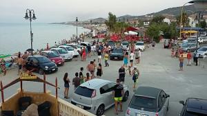 Primo Raduno regionale di autoveicoli ABARTH a Mandatoriccio mare1