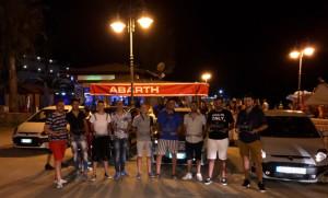Primo Raduno regionale di autoveicoli ABARTH a Mandatoriccio mare2