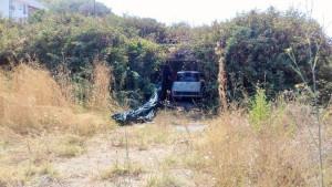 Scoperto dalla Polizia di Stato, covo segreto adibito a veicoli rubati (4)