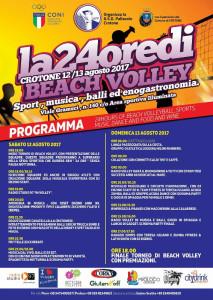 Tutto pronto per la prima edizione della 24 ore di Beach volley della Pallavolo Crotone1