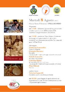 locandina evento Pallagorio _8 agosto_2017