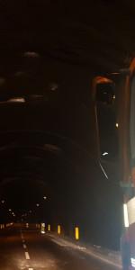 Cede intonaco nella galleria di Marcellinara direzione Catanzaro, colpisce alcune auto in transito (1)