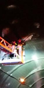 Cede intonaco nella galleria di Marcellinara direzione Catanzaro, colpisce alcune auto in transito (4)