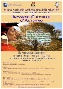 - Incontri Culturali d'Autunno