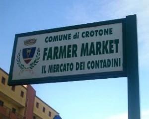 Iniziano i lavori di ammodernamento del Farmer Market, il mercato dei contadini a Crotone