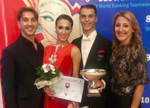 La coppia italiana colpisce ancora un altro ottimo risultato nella danza sportiva per Luciano e Adele (3)