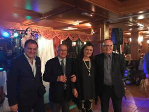 Massimo Marrelli e Antonella Stasi insieme ai Professori Francesco Centofanti e Arnaldo Filippini
