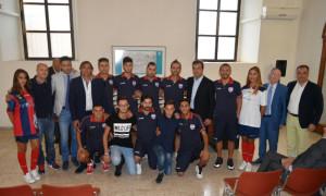 Presentata la squadra e la divisa ufficiale del Città di Cosenza Calcio a 5 (1)