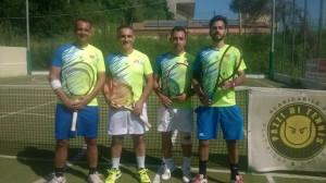 Tennis, Crucoli Torretta- la Squadra A del Centro Sportivo Ferrari va in D3