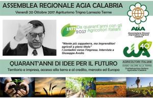 All'Assemblea regionale dell'Agia Calabria, si discuterà sull'imprenditoria agricola giovanile
