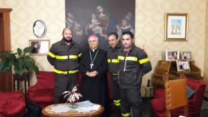 I Vigili del Fuoco Precari incontrano il vertice della Chiesa calabrese
