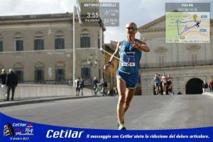 Il crotonese Antonio Carvelli alla XI edizione della Cetilar Pisa Half Marathon (2)