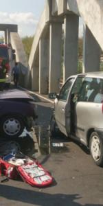 Incidente stradale sulla vecchia SS106, soccorsi dai Vigili del Fuoco (5)