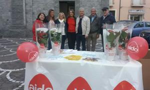 L'AIDO è stata presente con i suoi volontari in oltre 1500 piazze italiane