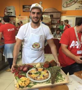 La Crema di Liquirizia di Romano e il Formaggio Caprino di Forciniti conquistano la Pizza d'Eccellenza - Francesco Ribaudo