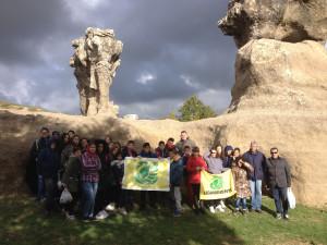 Puliamo il Mondo con le Scuole nel sito archeologico Incavallita - Pietre dell'Elefante di Campana (1)