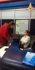 Scoppio simulato di un ordigno all'interno dell'area Check-in dell'Aeroporto di Lamezia Terme (1)