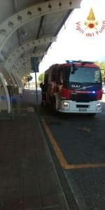 Scoppio simulato di un ordigno all'interno dell'area Check-in dell'Aeroporto di Lamezia Terme (10)