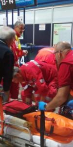 Scoppio simulato di un ordigno all'interno dell'area Check-in dell'Aeroporto di Lamezia Terme (13)