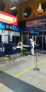 Scoppio simulato di un ordigno all'interno dell'area Check-in dell'Aeroporto di Lamezia Terme (4)