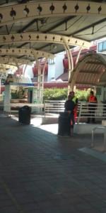 Scoppio simulato di un ordigno all'interno dell'area Check-in dell'Aeroporto di Lamezia Terme (5)