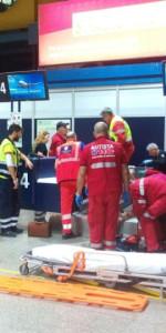 Scoppio simulato di un ordigno all'interno dell'area Check-in dell'Aeroporto di Lamezia Terme (6)