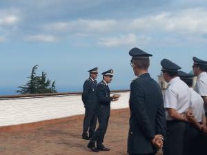 Vibo Valentia, Visita del Comandante Regionale della Guardia di Finanza, Generale di divisione Fabio Contini