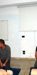 10 nuovi operatori di Primo Soccorso Blsd con l'utilizzo del defibrillatore formati a Cirò Marina (3)
