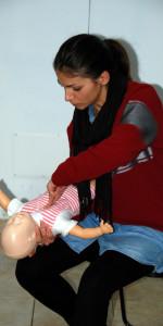 10 nuovi operatori di Primo Soccorso Blsd con l'utilizzo del defibrillatore formati a Cirò Marina (46)