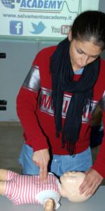 10 nuovi operatori di Primo Soccorso Blsd con l'utilizzo del defibrillatore formati a Cirò Marina (47)