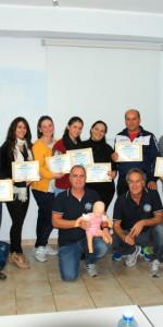 10 nuovi operatori di Primo Soccorso Blsd con l'utilizzo del defibrillatore formati a Cirò Marina (57)
