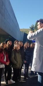 100 alunni dell'Istituto Rossano II in visita al Museo e ai Giardini di Pitagora di Crotone (3)