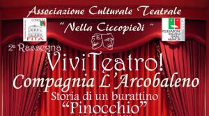 """Al via la seconda Rassegna """"Viviteatro"""" nel Teatro Comunale di Cariati"""