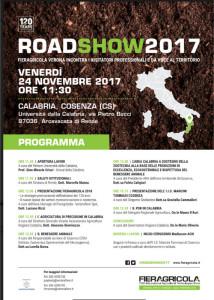 Calabria terra di eccellenze alla IV Tappa Italiana del tour Fieragricola 2018