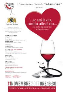Cirò Marina, Il primo evento dell'Associazione Salotti di Vini Cuore e vino