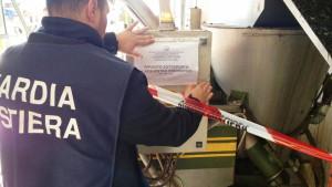 Controlli della Guardia Costiera a tutela dell'ambiente in un Frantoio (2)