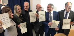 Il Presidente Oliverio ha premiato a Milano sei Ambasciatori della Calabria nel mondo