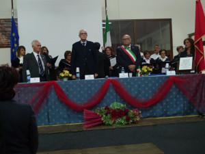 da sx: Francesco Cosco, Francesco Paolo Tronca, Amedeo Nicolazzi, Carmela Elia