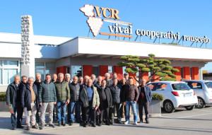 Il racconto di una esperienza formativa sul Viaggio dellAssociazione Vignaioli del Cirò VCR Vivai cooperativi Rauscedo
