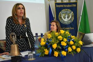 La Vice Presidente Nazionale del Soroptimist D'Italia ha incontrato tutti i club calabresi (1)