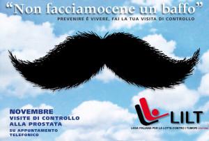 Lilt Crotone al via Movember Campagna per la prevenzione del tumore alla prostata