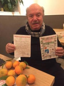 """Lino Banfi """"adotta"""" le Clementine di Corigliano Calabro (1)"""