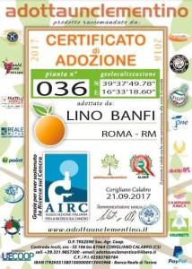 """Lino Banfi """"adotta"""" le Clementine di Corigliano Calabro (2)"""