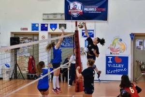 Pallavolo Crotone vs Spezzano 3-0