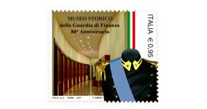 Un francobollo dedicato al Museo Storico della Guardia di Finanza